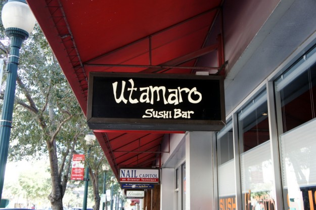 Utamaro Sushi SRQ Reviews Sarasota Fl